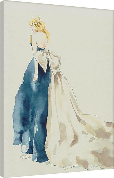 Canvas Print Louise Nisbet - Chloe