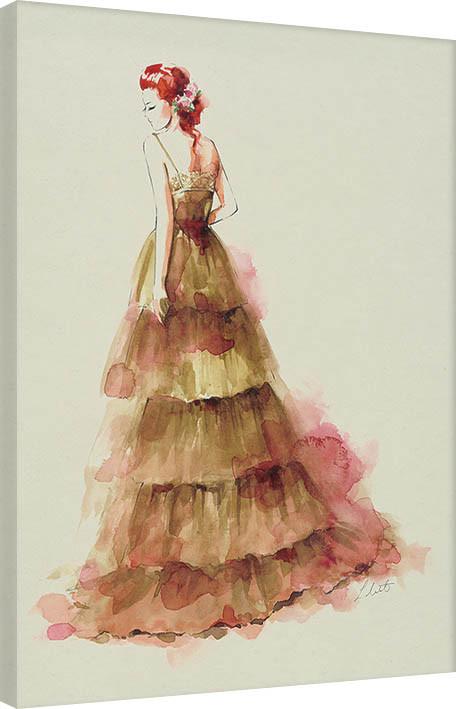 Canvas Print Louise Nisbet - Sienna