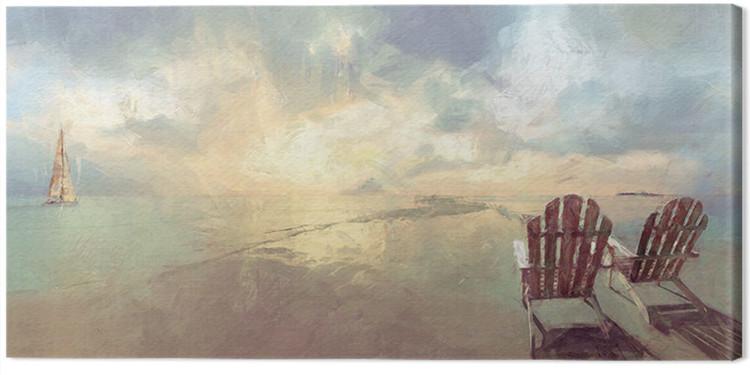 Canvas Print Malcolm Sanders - Heavenly Dawn