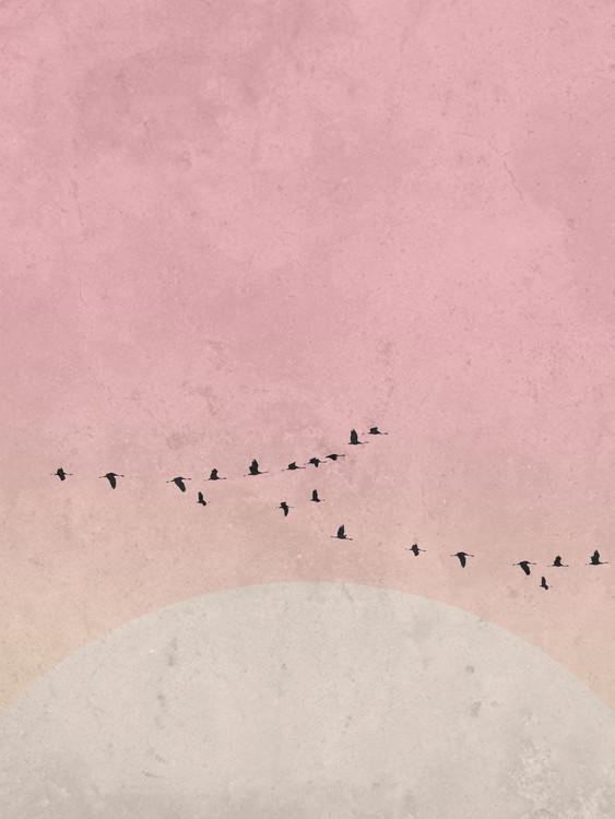 Canvas Print moonbird5