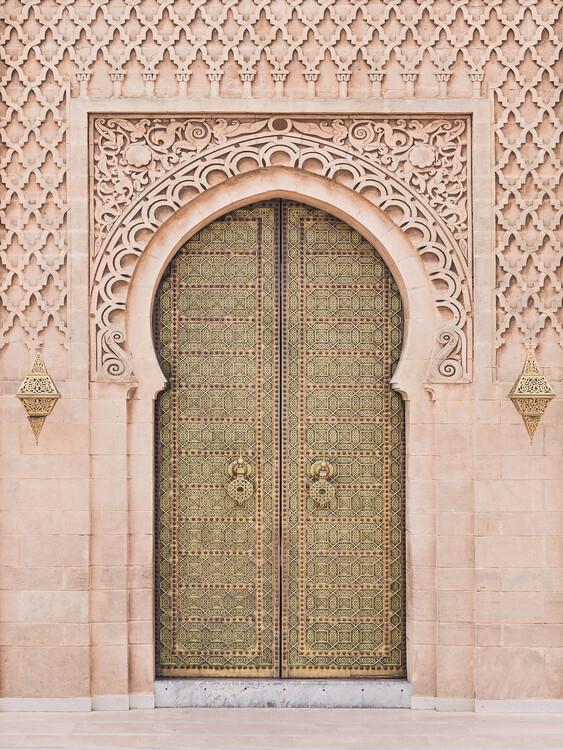 Canvas Print Moroccan Door