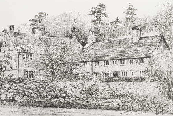Canvas Print Mottistone Hall Isle of Wight, 2008