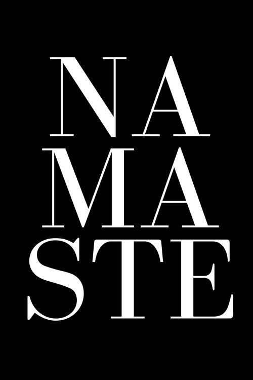 Canvas Print Namaste
