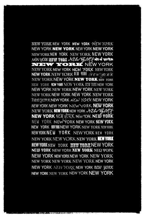 Canvas Print New York New York