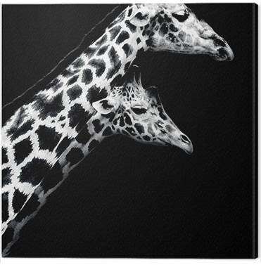Canvas Print Nicolas Evariste - In Love II