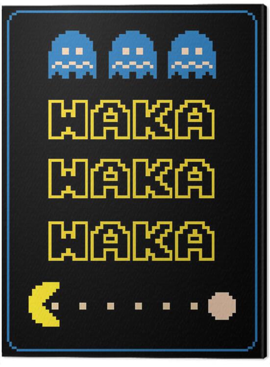 Canvas Print Pac-Man - Waka Waka Waka