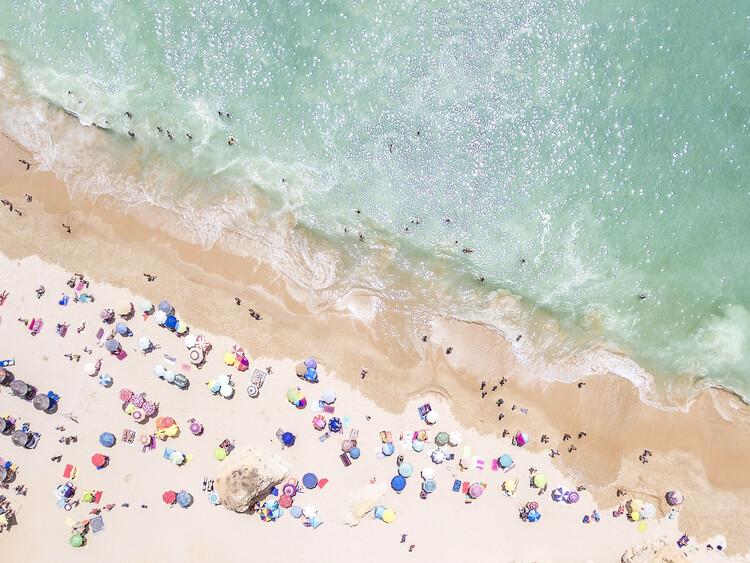 Canvas Print Pastel Beach