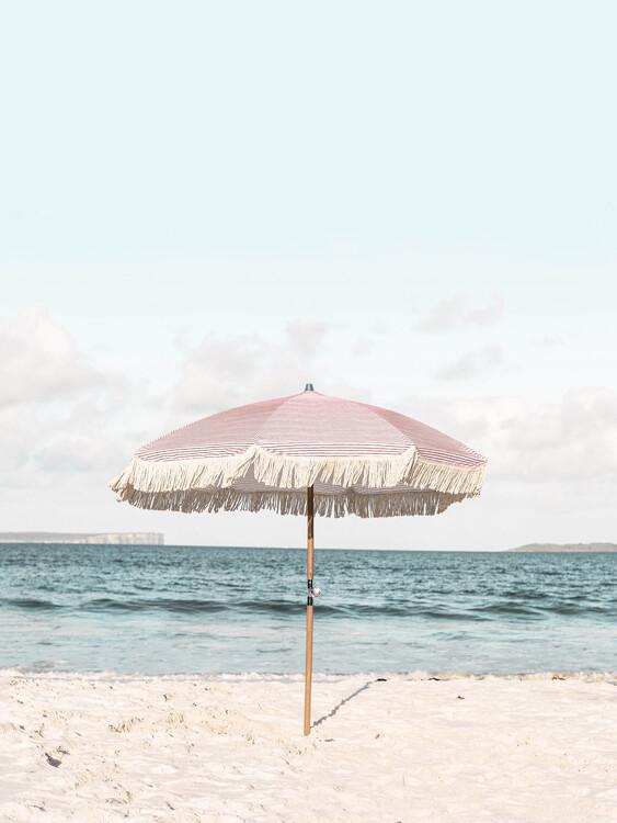 Canvas Print Pink Umbrella