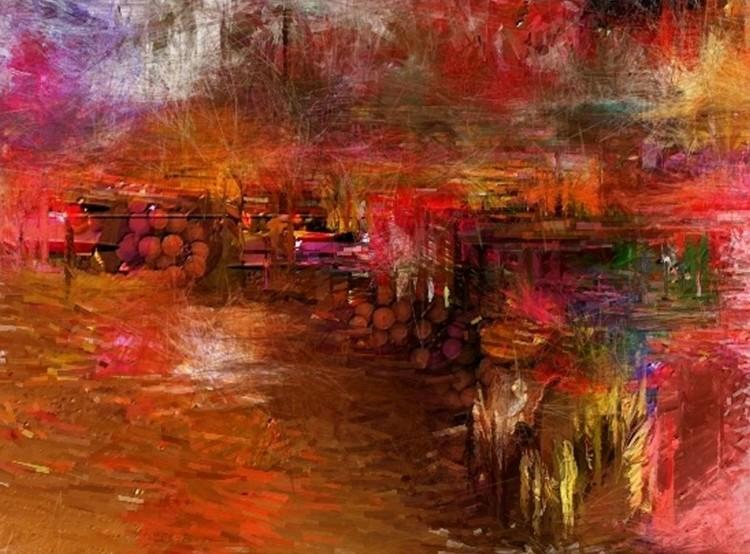 Quietudo Canvas Print