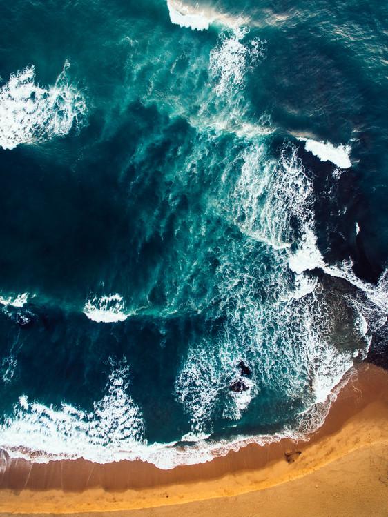 Random beach of Portugal Canvas Print