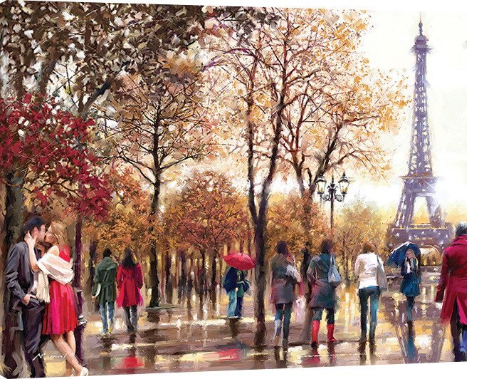 Canvas Print Richard Macneil - Eiffel Tower
