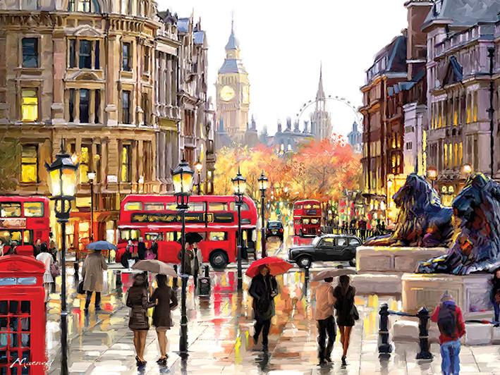 Canvas Print Richard Macneil - London Landscape