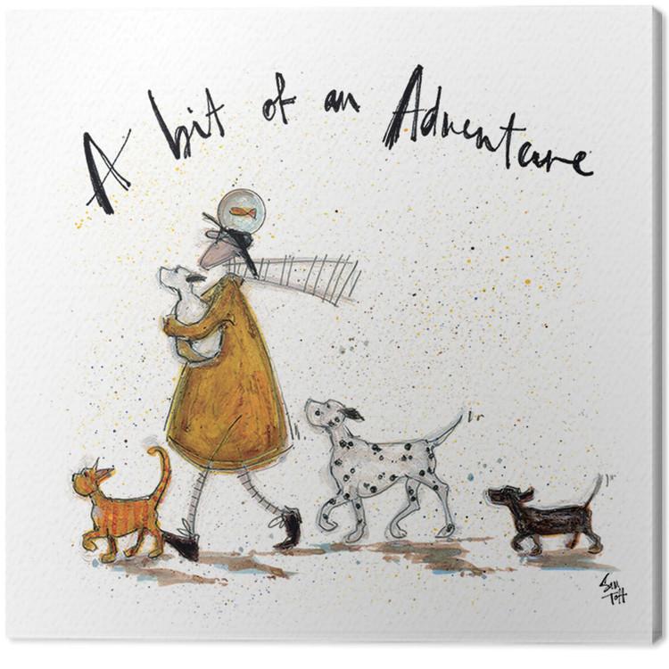 Canvas Print Sam Toft - A Bit of an Adventure