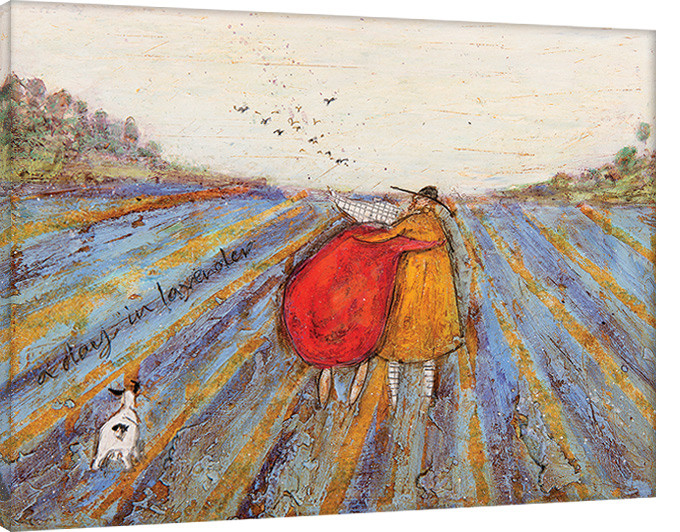 Canvas Print Sam Toft - A Day in Lavender