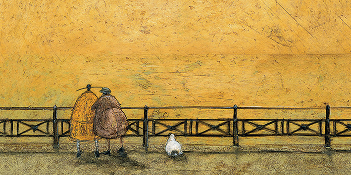 Sam Toft - A Romantic Interlude Canvas Print