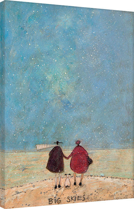 Canvas Print Sam Toft - Big Skies