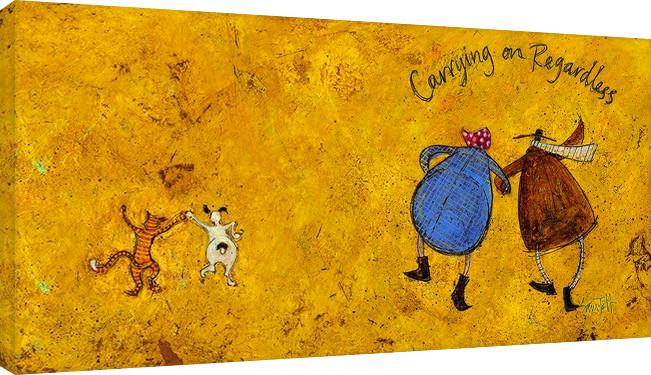 Canvas Print Sam Toft - Carrying on regardless II