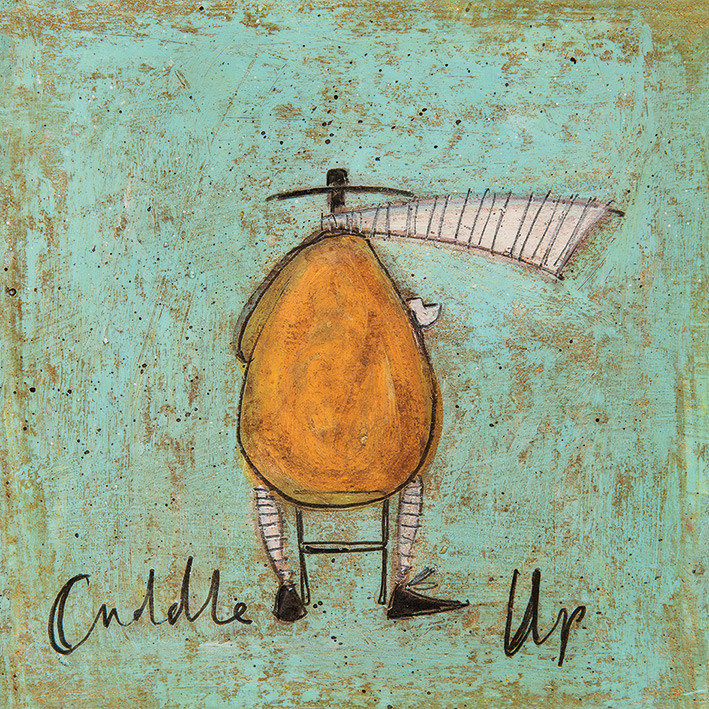 Canvas Print Sam Toft - Cuddle Up