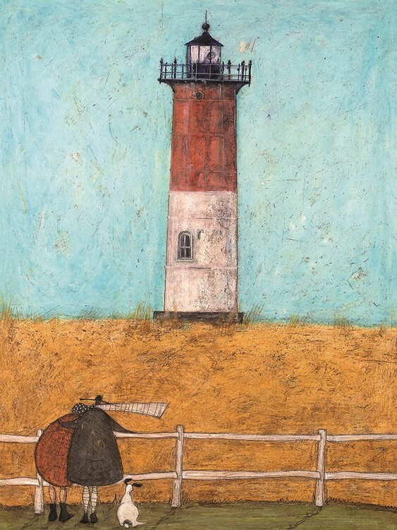 Canvas Print Sam Toft - Feeling the Love at Nutset Light