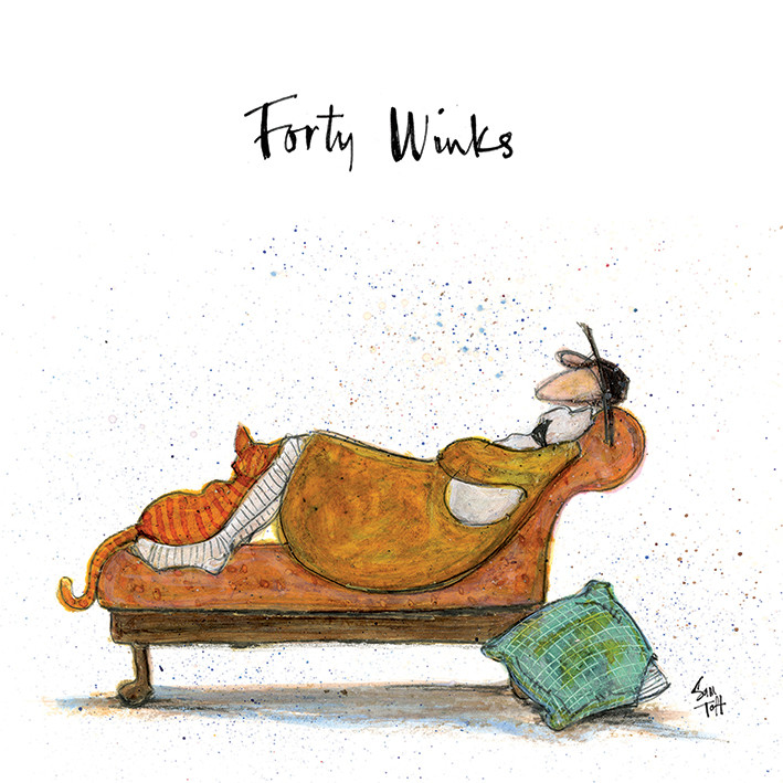 Canvas Print Sam Toft - Forty Winks