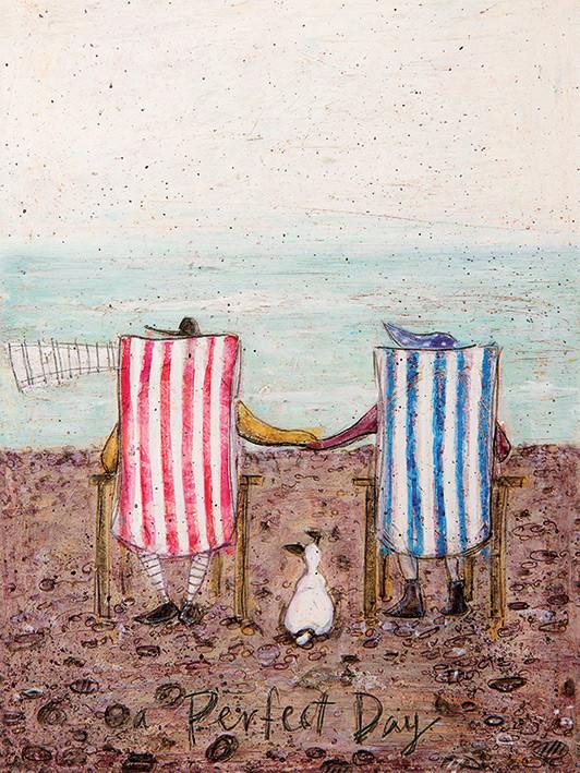 Canvas Print Sam Toft - Perfect Day