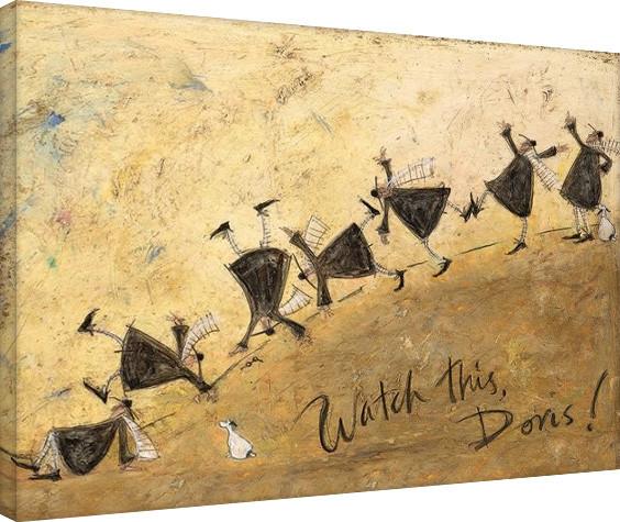 Canvas Print Sam Toft - Watch This, Doris!
