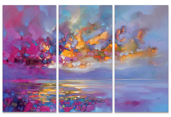 Canvas Print Scott Naismith - Magenta Refraction