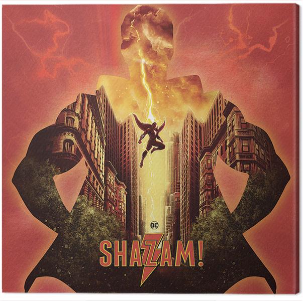 Canvas Print Shazam - Shake The Heavens