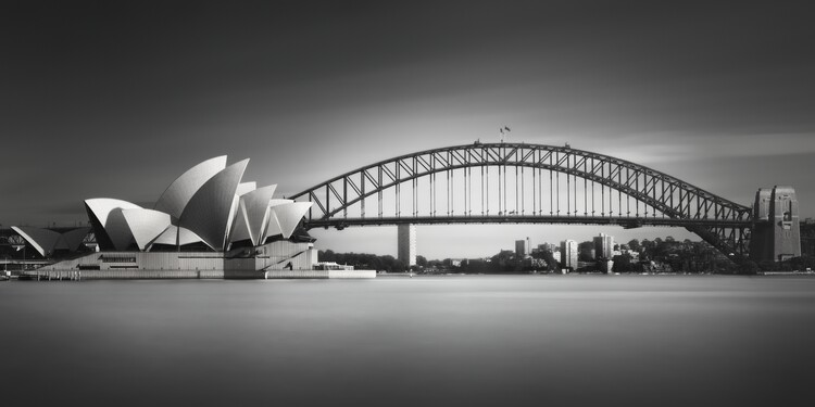 Canvas Print Silence of Ms. Macquarie's Sights