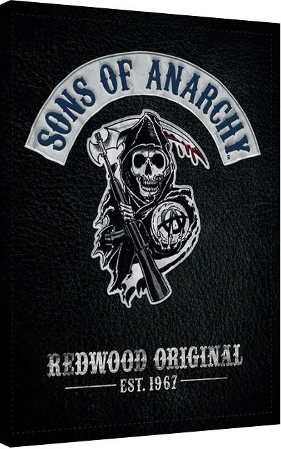 Sons of Anarchy - Cut Canvas Print