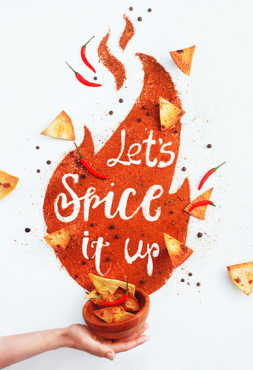 Canvas Print Spice it up!