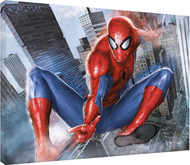 Canvas Print Spider-Man - In Action