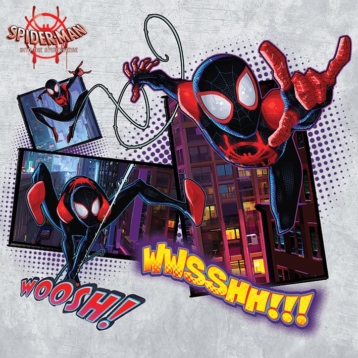 Canvas Print Spider-Man: Into The Spider-Verse - Comic