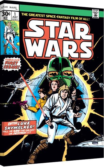 Star Wars - Enter Luke Skywalker Canvas Print