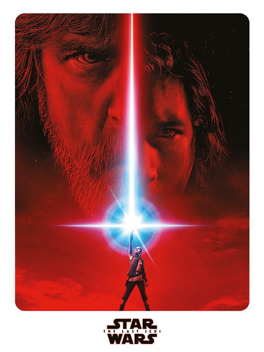 Canvas Print Star Wars The Last Jedi - Teaser