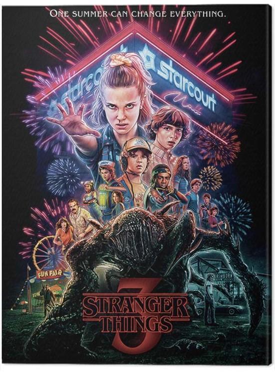 Canvas Print Stranger Things - Summer of 85