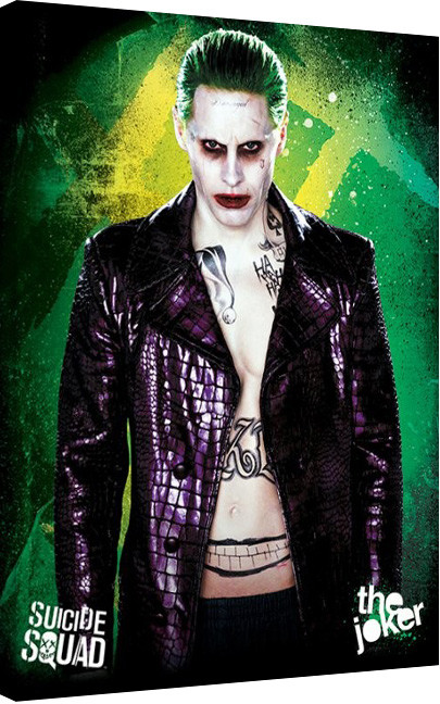 Suicide Squad- The Joker Canvas Print