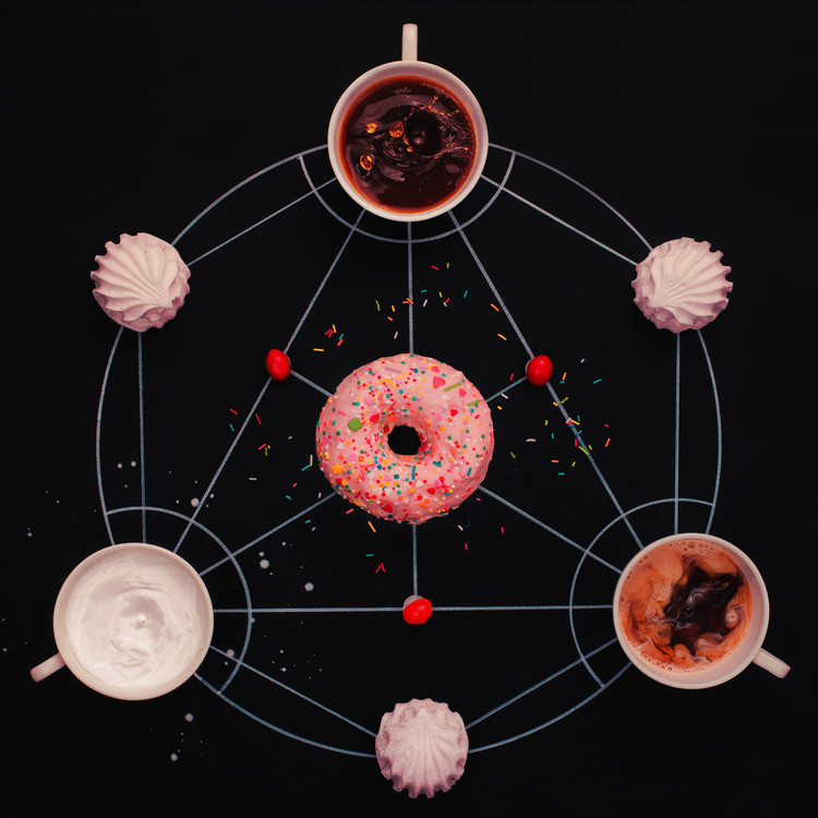 Canvas Print Sweet alchemy of cooking