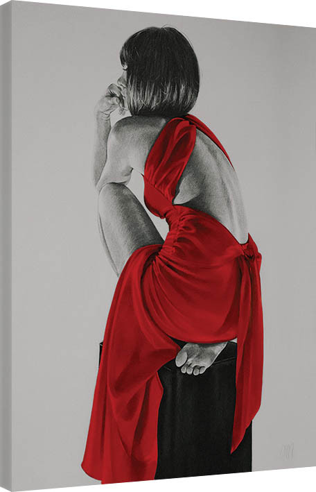 Canvas Print T. Good - Red XXIV