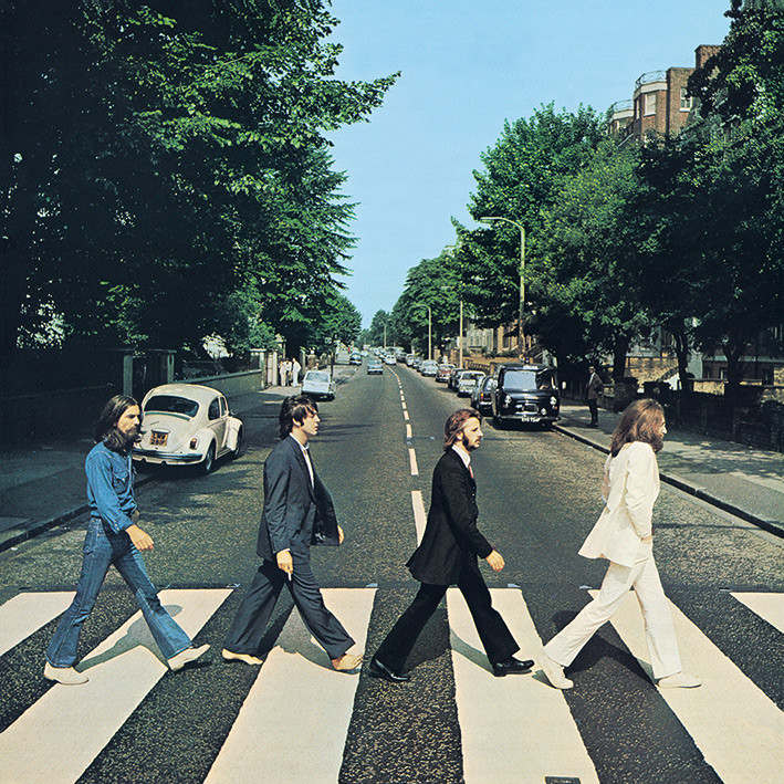Canvas Print The Beatles - Abbey Road
