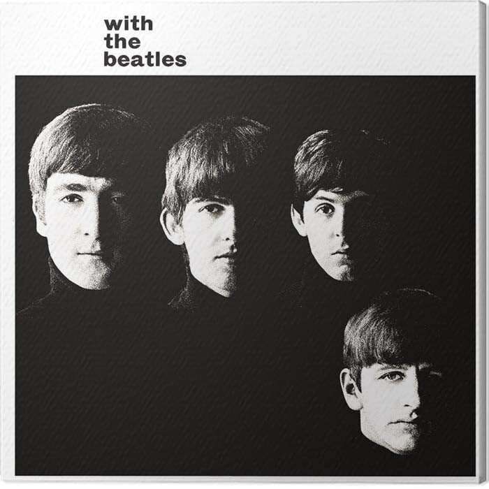Canvas Print The Beatles - With the Beatles