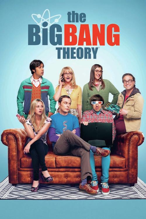 Canvas Print The Big Bang Theory - Crew