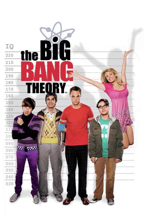 Canvas Print The Big Bang Theory - IQ meter