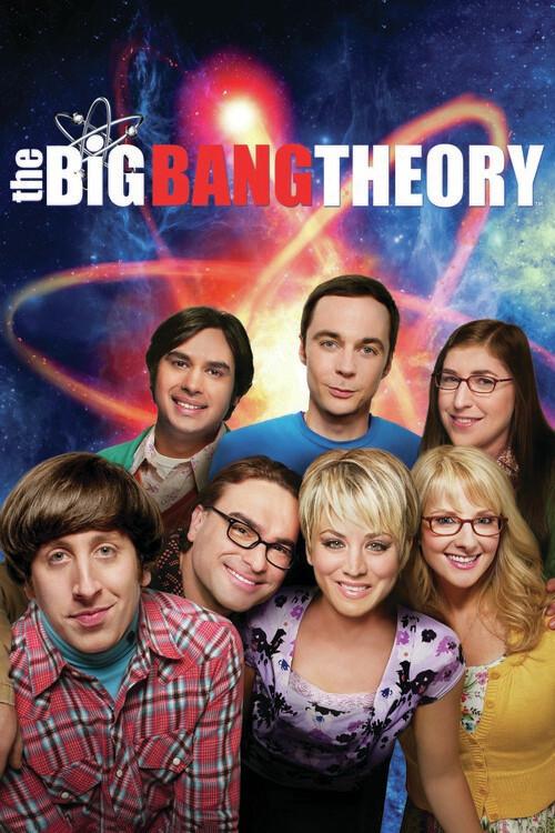 Canvas Print The Big Bang Theory - Team