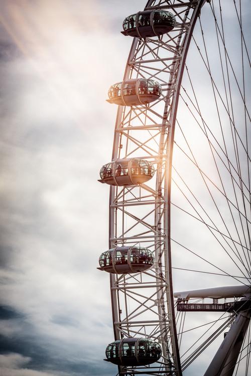Canvas Print The London Eye