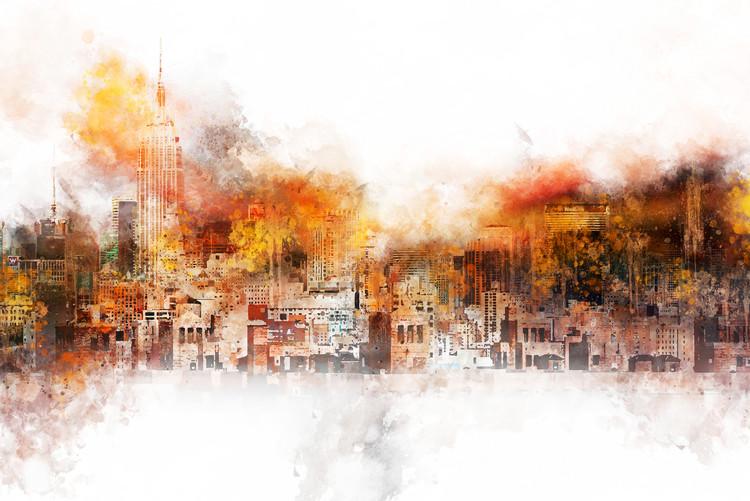 Canvas Print The Skyline
