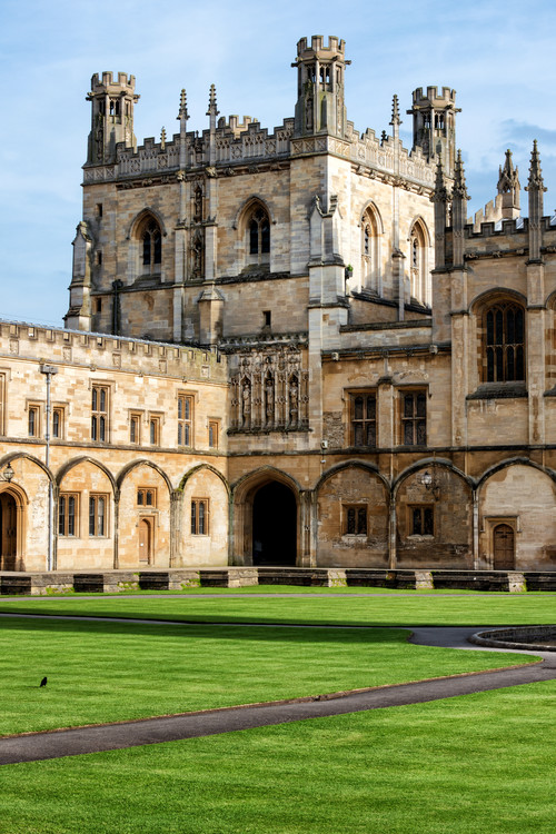 The University of Oxford Canvas Print