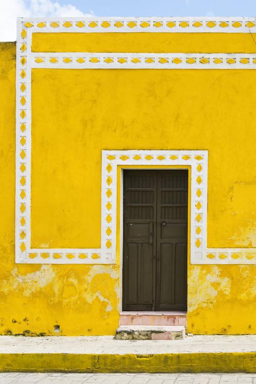 Canvas Print The Yellow City II - Izamal