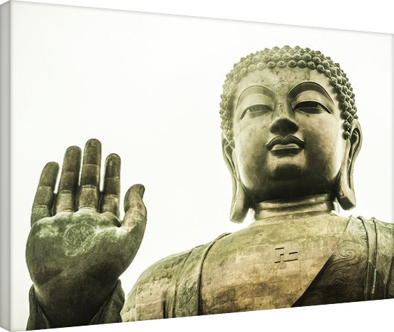 Canvas Print Tim Martin - Tian Tan Buddha, Hong Kong