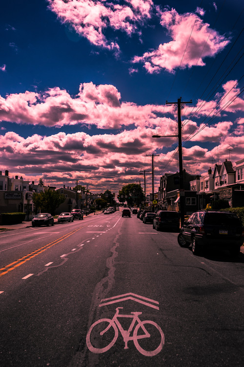 Canvas Print Torresdale Ave